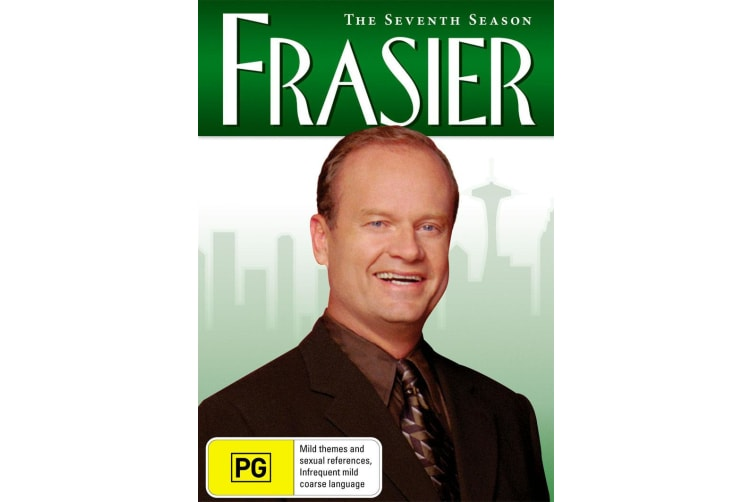 Frasier The Complete Season 7 DVD Region 4