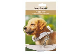 Beeztees Puppy Collar And Lead Set (Pink)