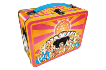 Jimi Hendrix Tin Carry All Fun Box