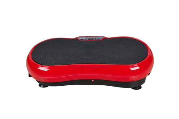 Pursonic Slimming Vibration Plate (Red / Black)