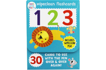 Wipeclean flashcards 123