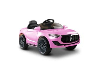 Rigo Maserati Kids Ride On Car  (Pink)