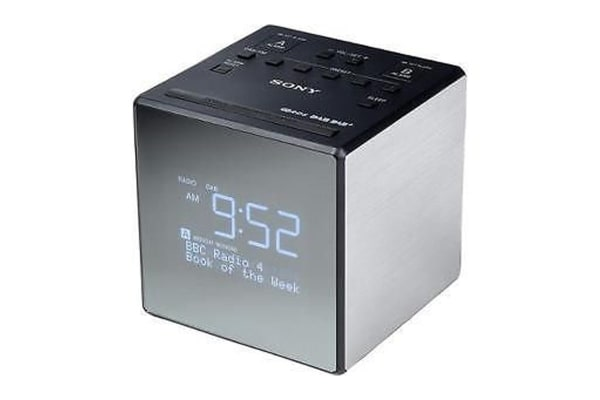 sony dab alarm clock radio xdr c1dbp. Black Bedroom Furniture Sets. Home Design Ideas