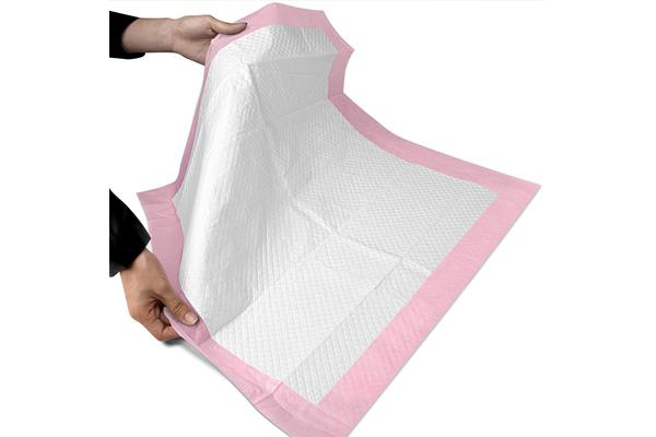 i.Pet 100 Pack Puppy Toilet Training Pads (Pink)