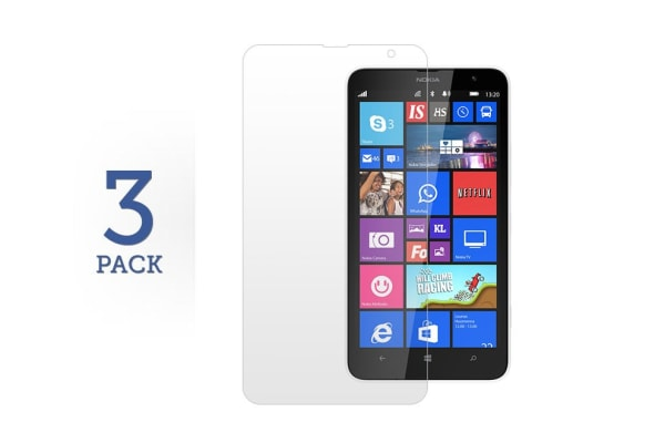 3 Pack Screen Protector for Nokia Lumia 1320