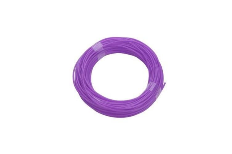 340M Pla Filament 1.75Mm For 3D Printer Pen Modeling Draw Round - Purple