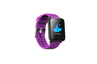 Smart Watch/Fitness Tracker,Waterproof Slim Sports Bracelet Activity Purple