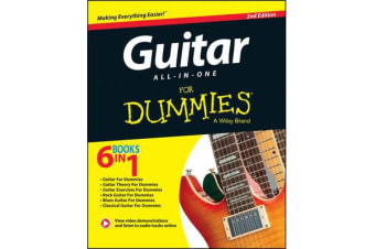 Guitar All-In-One For Dummies - Book + Online Video & Audio Instruction