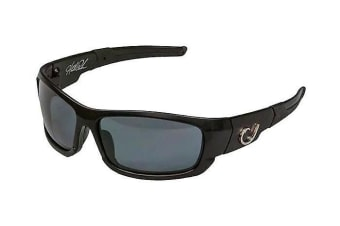 Mustad Hank Parker Polarized Fishing Sunglasses - Smoke Lens - HP101A02