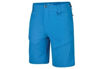 Dare 2B Mens Tuned In II Multi Pocket Walking Shorts (Atlantic Blue) (32in)