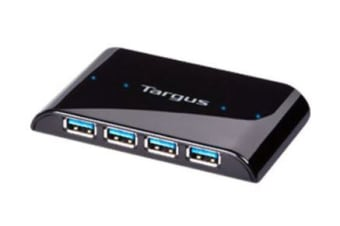 TARGUS SuperSpeed™ 4 Port USB3.0 Hub with Transfer Rate of 615MB/Sec