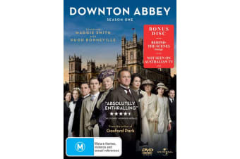 Downton Abbey Series 1 DVD Region 4