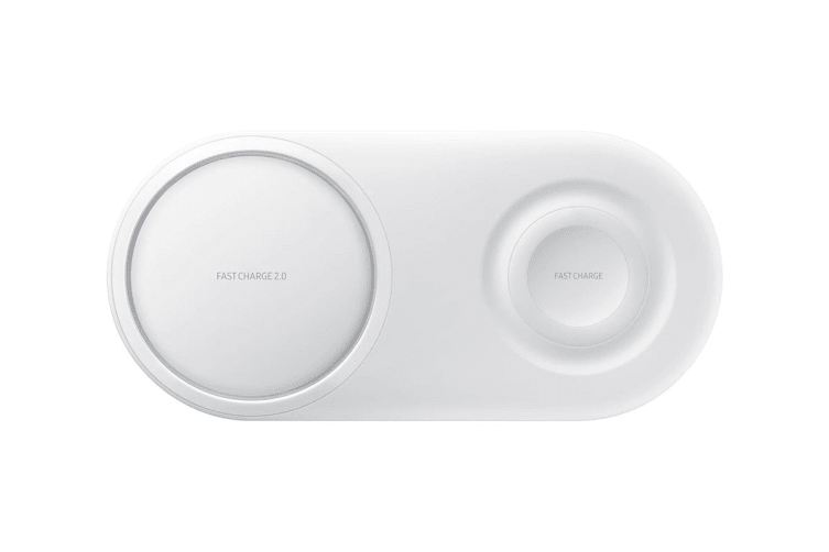 Samsung Fast Charge Wireless Charger Pad Duo (White) - EP-P5200TWEG AU/NZ Model