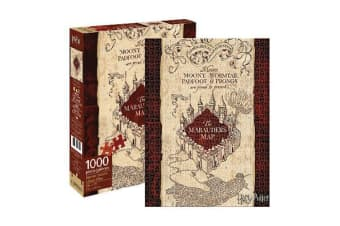Harry Potter - Marauders Map 1000pc Puzzle