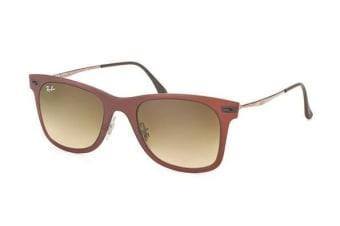 Ray Ban RB4210 612213 Matte Dark Brown Mens Sunglasses