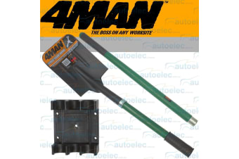 4Man Compact 2 Piece Recovery Shovel Tool 4wd 4x4 Camping Outdoor Spade Off Road