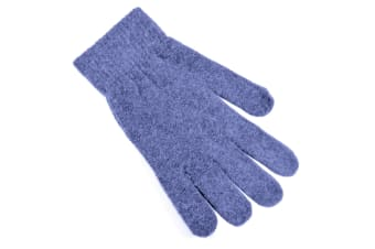 Ladies/Womens Winter Magic Gloves With Wool (Blue) (One Size)