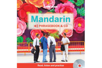 Lonely Planet Mandarin Phrasebook and Audio CD