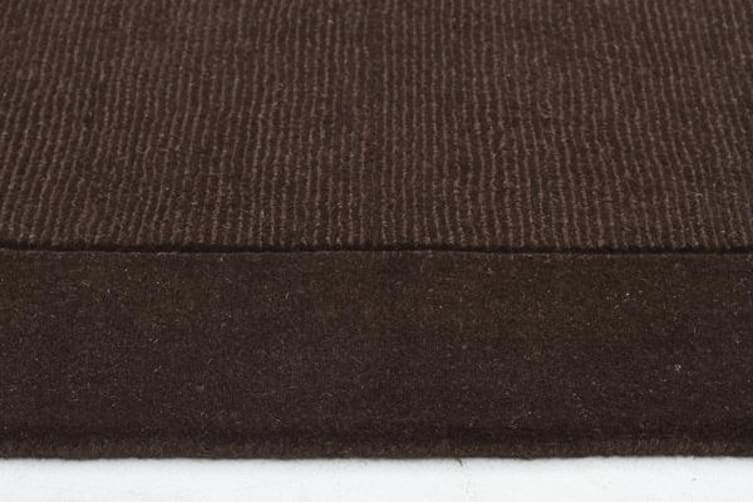 Cut and Loop Pile Rug Chocolate 320x230cm