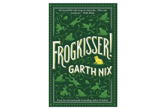 Frogkisser! Book Young Adults/Teens Frog Animal Bedtime Fun Story by Garth Nix