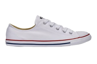 Converse Unisex Chuck Taylor All Star Dainty Ox (White, Size 10)