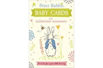Peter Rabbit Baby Cards - for Milestone Moments