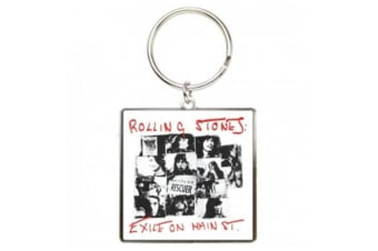 The Rolling Stones Keyring Exile On Main Street