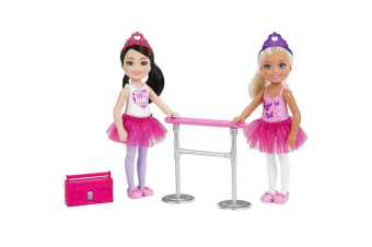 Barbie Chelsea Doll Ballet Dance Set - 2-Pack