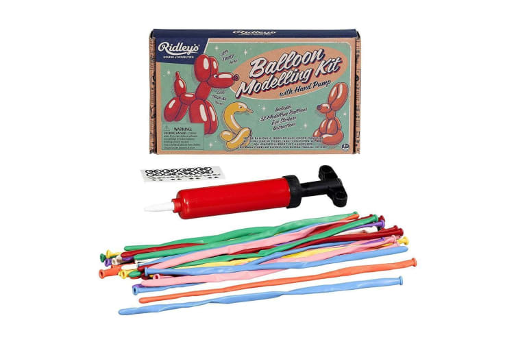 Ridley`s Balloon Modelling Kit with Balloons, Pump & Detailed Instructions!