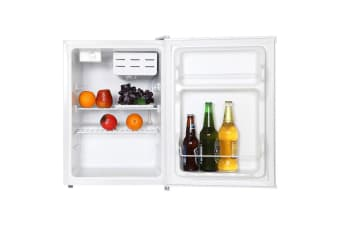 Palsonic 69L Single Door Bar Fridge Home/Office Refrigerator/Top Cooler White