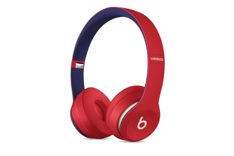 Beats Solo3 Wireless Headphones (Beats Club Collection, Club Red)