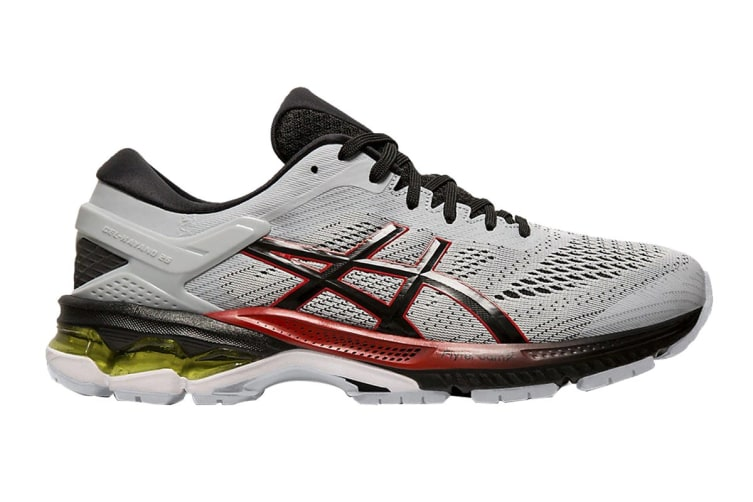 ASICS Men's Gel-Kayano 26 Running Shoe (Piedmont Grey/Black, Size 8.5 US)
