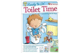 Ready to Go! Toilet Time - A training book for boys