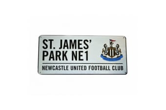 Newcastle Metal Street Sign (Multicoloured)