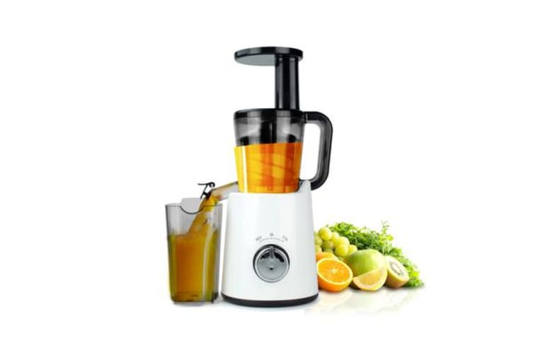 TODO Slow Juicer Cold Press Juice Extractor Processor Healthy Electric Fruit Veggie - White