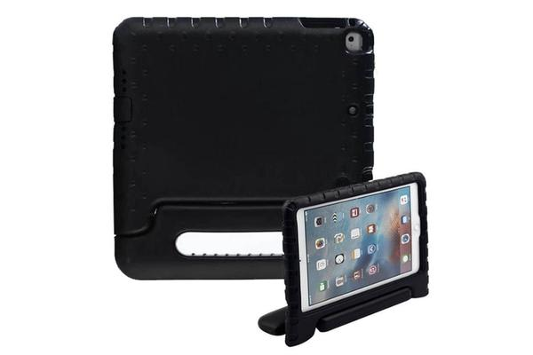 Education Soft handle iPad (2017 Model)  Case Protector For School Kids -Black