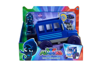 PJ Turbo Blast Racers Night Ninja Bus