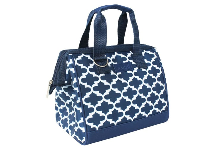 Sachi Thermal Insulated Picnic Lunch Box Cooler Food Storage Bag Moroccan Navy