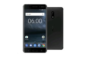 Nokia 6 TA-1021 (32GB, Black)