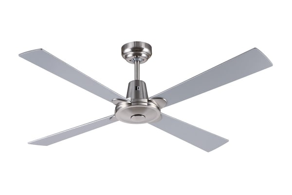 Mercator Kimberley II 1200mm Ceiling Fan - Brushed Chrome (FC130124BC)
