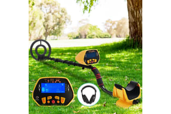 Metal Detector Deep Sensitive LCD Searching Gold Digger Treasure Hunter