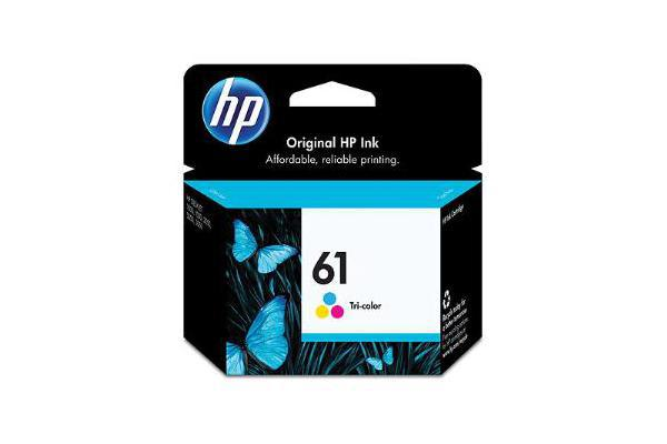HP No 61 Tri-Color Inkjet Print Cartridge
