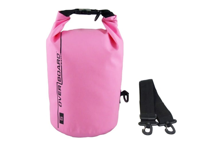 Overboard 5 Litre Dry Tube PINK