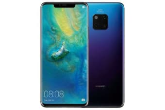 New Huawei Mate 20 Pro Dual 128GB 4G LTE Smartphone Twilight (FREE DELIVERY + 1 YEAR AU WARRANTY)