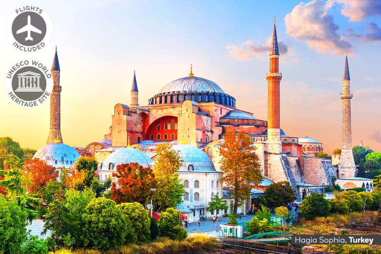 TURKEY & MOROCCO: 24 Day Turkey and Morocco Adventure Including Flights for Two