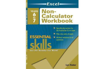 Excel Essential Skills - Non-Calculator Workbook Years 6-7