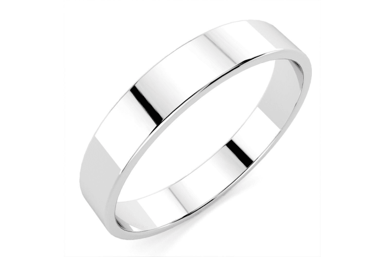.925 Classic Band-Silver Size US 8