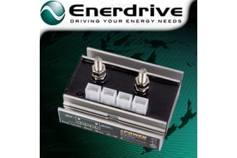 ENERDRIVE LOW VOLTAGE DISCONNECT CUT OUT DEEP CYCLE AGM DUAL BATTERY 12V 24V