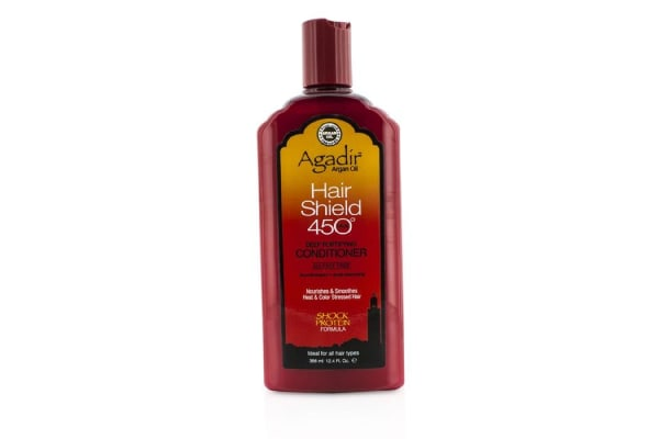 Agadir Argan Oil Hair Shield 450 Plus Deep Fortifying Conditioner - Sulfate Free (For All Hair Types) (366ml/12.4oz)