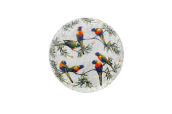 Maxwell & Williams Cashmere Birds of Australia Lorikeets Treetop Plate 20cm